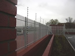Photo of electric fencing