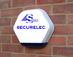 Photo of an intruder alarm